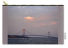 Verrazano Narrows Bridge At Sunset Carry-all Pouch