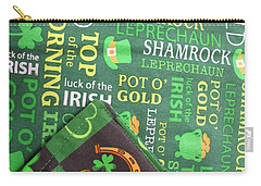 Carry-all Pouch featuring the photograph Very Irish by Barbara McDevitt