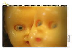 Carry-all Pouch featuring the photograph Very Scary Doll by Lynn Sprowl