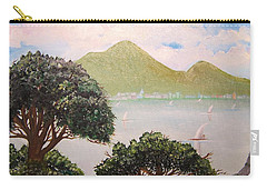 Vesuvius And Umbrella Pine Tree II Carry-all Pouch