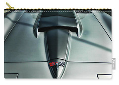 Carry-all Pouch featuring the photograph Vette Hood by Victor Montgomery
