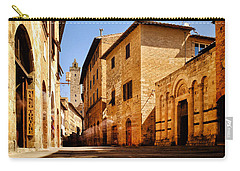 Carry-all Pouch featuring the photograph Via San Giovanni by Fabrizio Troiani