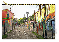 Carry-all Pouch featuring the photograph Vias De Caminito by Silvia Bruno