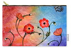 Vibrant Poppies Carry-all Pouch