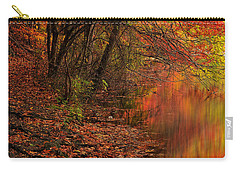Vibrant Reflection Carry-all Pouch by Lourry Legarde