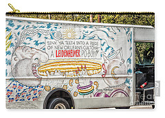Vic And Nat'ly And The Leidenheimer Po-boy Truck - New Orleans Carry-all Pouch