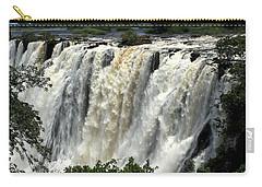 Victoria Falls On The Zambezi River Carry-all Pouch