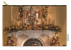 Victorian Christmas By The Fire Carry-all Pouch