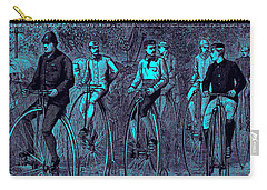 Victorian High Wheel Bicyclists No.2 Carry-all Pouch