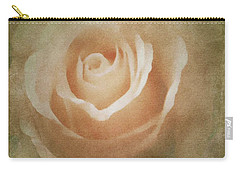 Victorian Vintage Pink Rose Carry-all Pouch