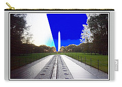 Viet Nam Memorial And Obelisk Carry-all Pouch