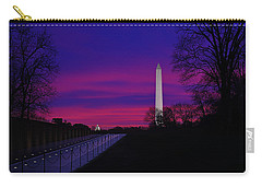 Vietnam Memorial Sunrise Carry-all Pouch