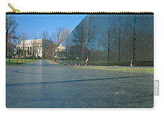 Vietnam Veterans Memorial, Washington Dc Carry-all Pouch by Panoramic Images
