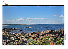 View From Marginal Way Ogunquit Maine 3 Carry-all Pouch