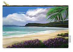 Carry-all Pouch featuring the digital art View From My Villa by Anthony Fishburne