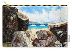 View Of Devil's Bay Carry-all Pouch