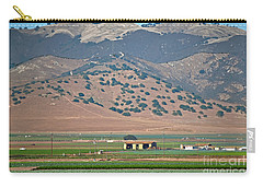 Carry-all Pouch featuring the photograph View From The Crops by Susan Wiedmann