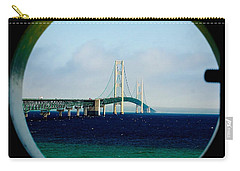 View From The Mackinac Light Carry-all Pouch