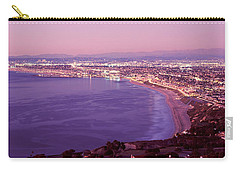 View Of Los Angeles Downtown Carry-all Pouch by Panoramic Images