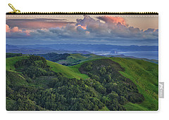 View Of Morro Bay Carry-all Pouch