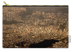 Carry-all Pouch featuring the photograph View Of Quito From The Teleferiqo by Eleanor Abramson