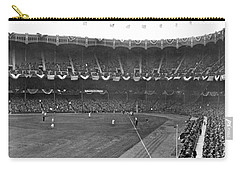 View Of Yankee Stadium Carry-all Pouch by Underwood Archives