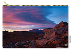 View To Long's Peak Carry-all Pouch