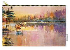 Vigil In The Shallows At Sunrise Carry-all Pouch