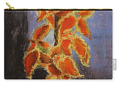 Vincent's Coleus In Pastels Carry-all Pouch