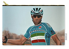 Vincenzo Nibali Painting Carry-all Pouch