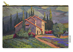Vineyard And Lavender In Provence Carry-all Pouch
