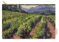 Vineyard At Dentelles Carry-all Pouch