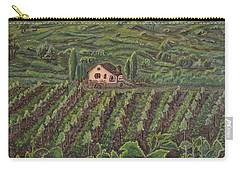 Vineyard In Neuchatel Carry-all Pouch