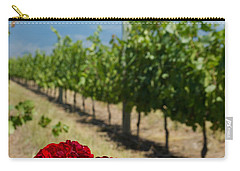 Vineyard Rose Carry-all Pouch