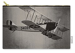 Vintage 1917 Curtiss Jn-4d Jenny Flying  Carry-all Pouch by Keith Webber Jr