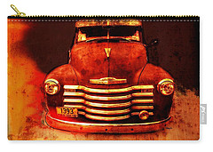 Vintage 1950 Chevy Truck Carry-all Pouch by Rebecca Korpita