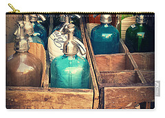 Vintage Antique Seltzer Bottles Carry-all Pouch