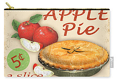 Vintage Apple Pie Sign Carry-all Pouch by Jean Plout