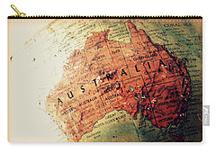Vintage Australia Carry-all Pouch by Faith Williams