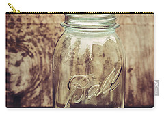 Vintage Ball Mason Jar Carry-all Pouch by Terry DeLuco