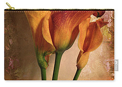 Vintage Calla Lily Carry-all Pouch