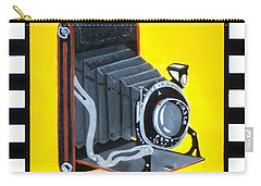 Vintage Camera Carry-all Pouch by Karyn Robinson