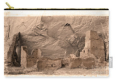 Vintage Canyon De Chelly Carry-all Pouch by Jerry Fornarotto