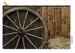 Vintage Carriage Wheel Carry-all Pouch