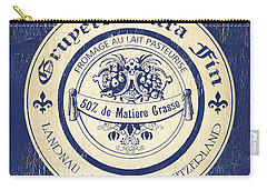 Vintage Cheese Label 5 Carry-all Pouch
