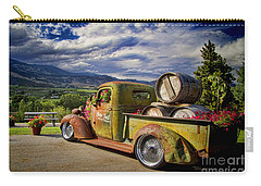 Vintage Chevy Truck At Oliver Twist Winery Carry-all Pouch