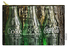 Vintage Coke Bottles Carry-all Pouch