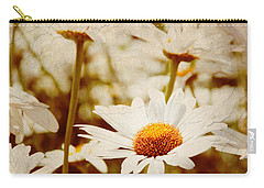 Vintage Daisy Carry-all Pouch