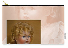 Vintage Doll Beauty Art Prints Carry-all Pouch