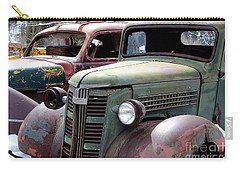 Vintage Carry-all Pouch by Fiona Kennard